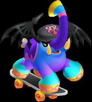 Reaper Elephant Kingdom Hearts Dream Drop Distance Skateboard