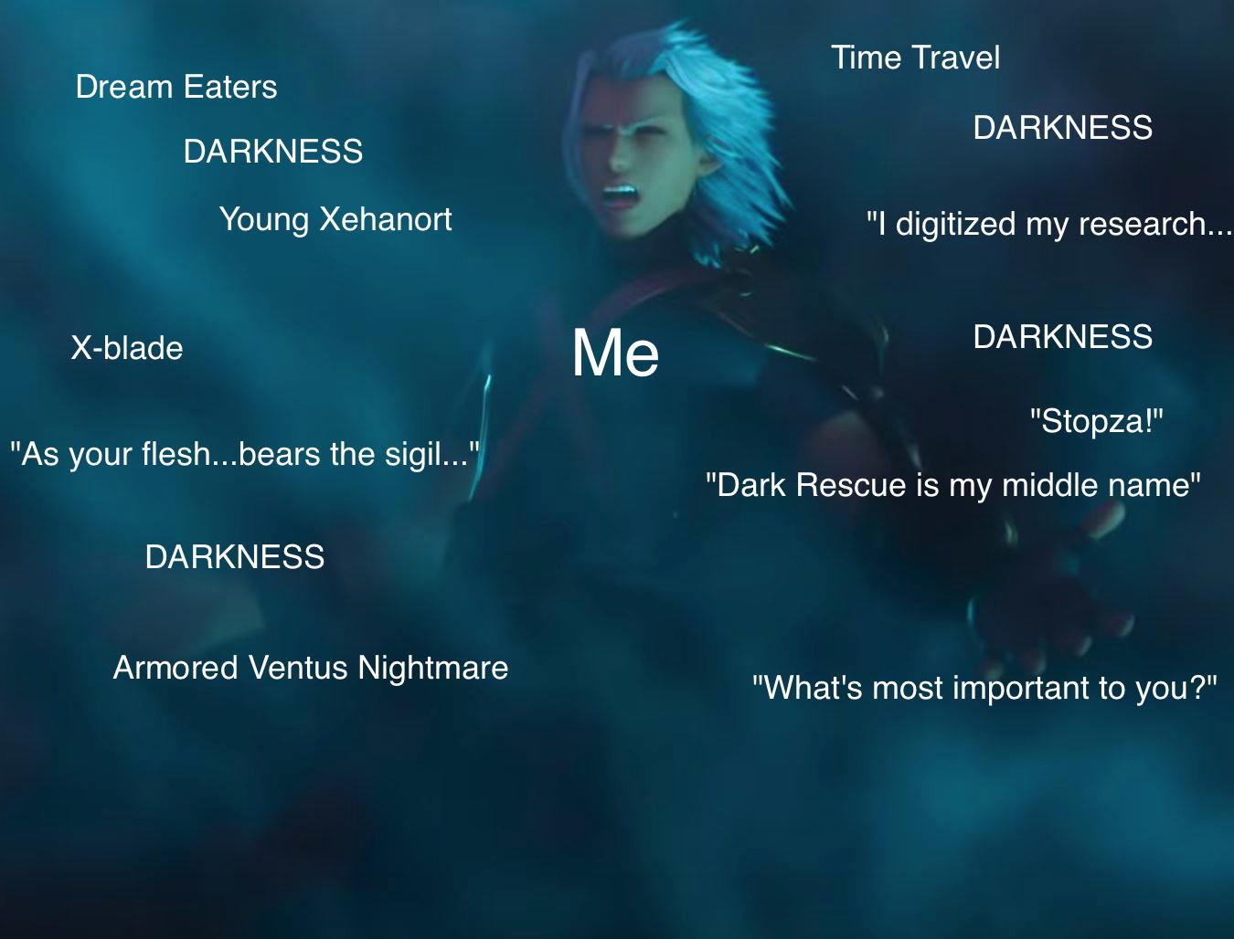 Dream Drop Distance ending craziness meme