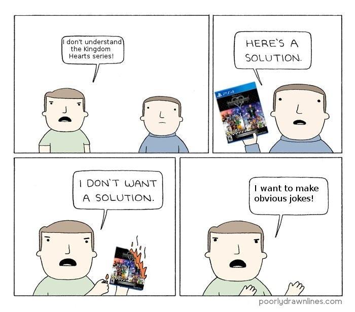 I don't understand Kingdom Hearts comic