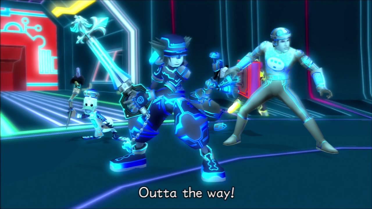 Digital Sora Tron World Kingdom Hearts