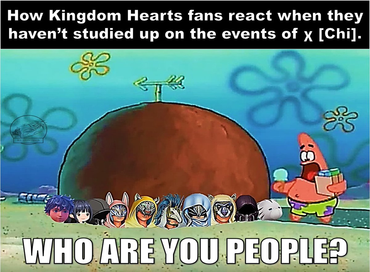 X Chi Kingdom Hearts who are you people