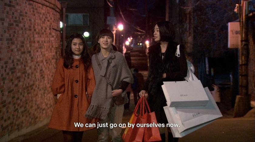 the girls go shopping on boys over flowers episode 16