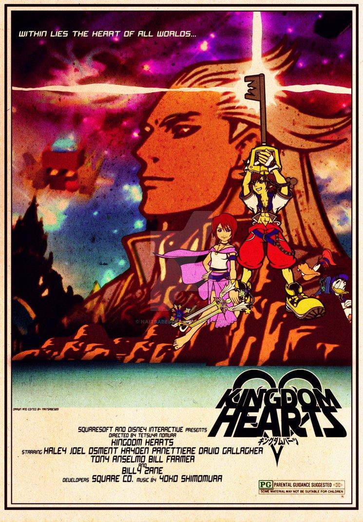 Kingdom Hearts Star Wars movie poster