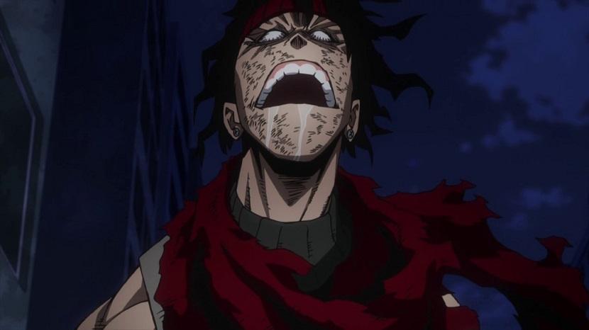 Stain passes out My Hero Academia season 2 episode 17