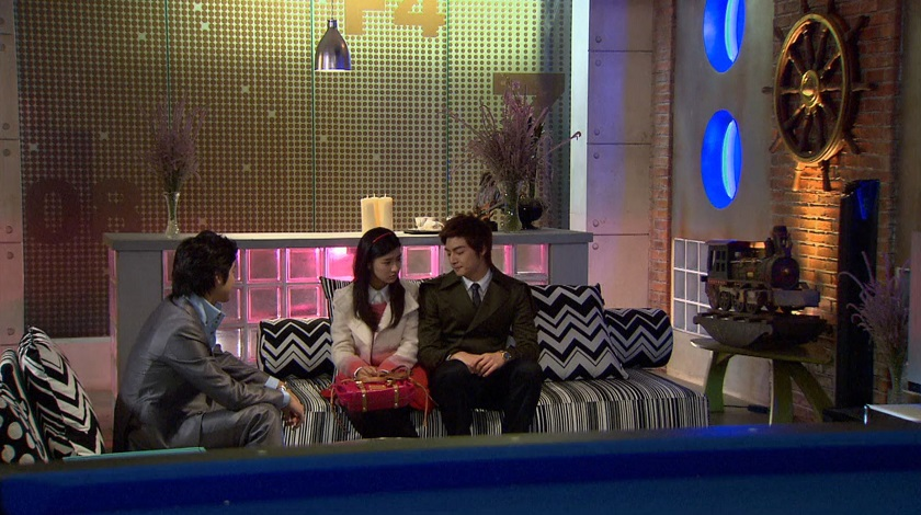Boys Over Flowers, Woo-bin, Yi-jung, and Ga-eul plot
