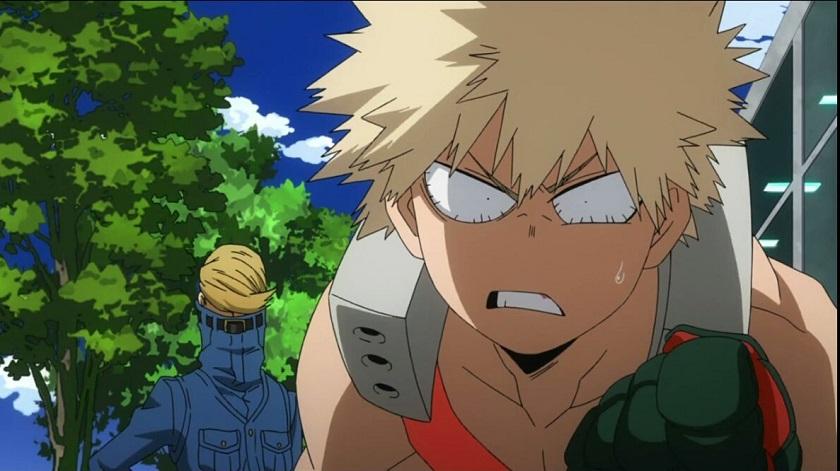 Bakugo on his internship my hero academia season 2 episode 19