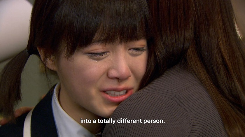 Jan-di crying in Boys Over Flowers episode 15