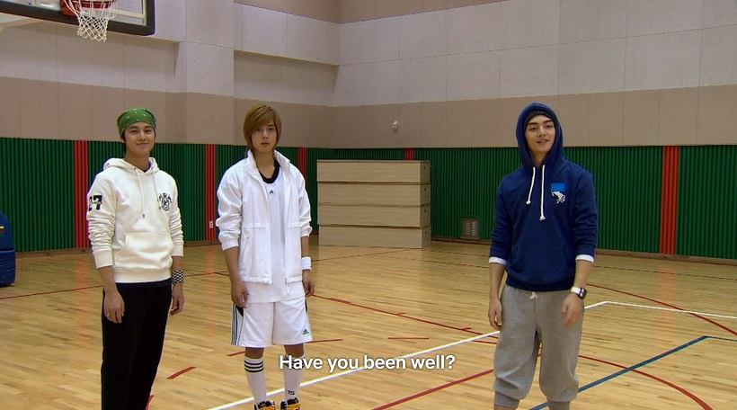 Woo-bin, Ji-hoo, Yi-jung geared up for basketball in Boys Over Flowers episode 14