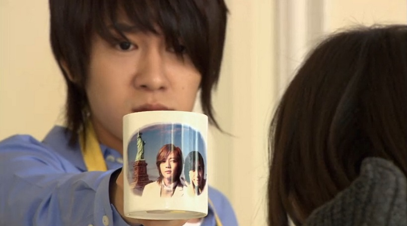 Min and his mug in Boys Over Flowers episode 14