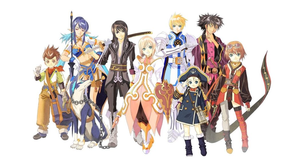 Tales of Vesperia party member lineup, discussed on Talk This!