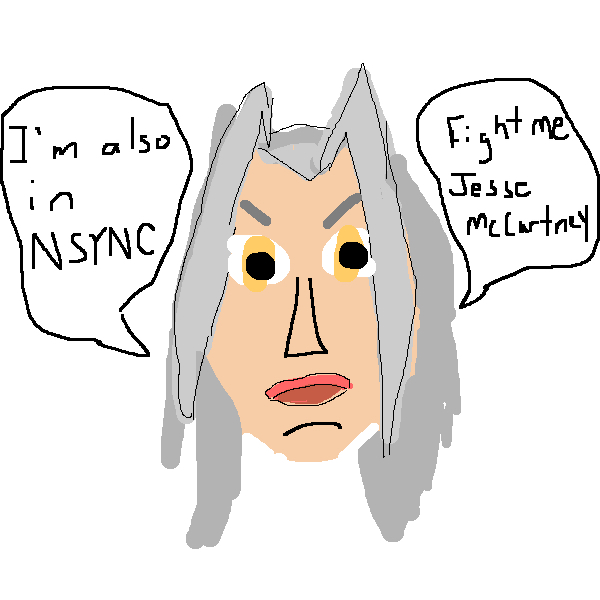 Sephiroth Norted NSYNC