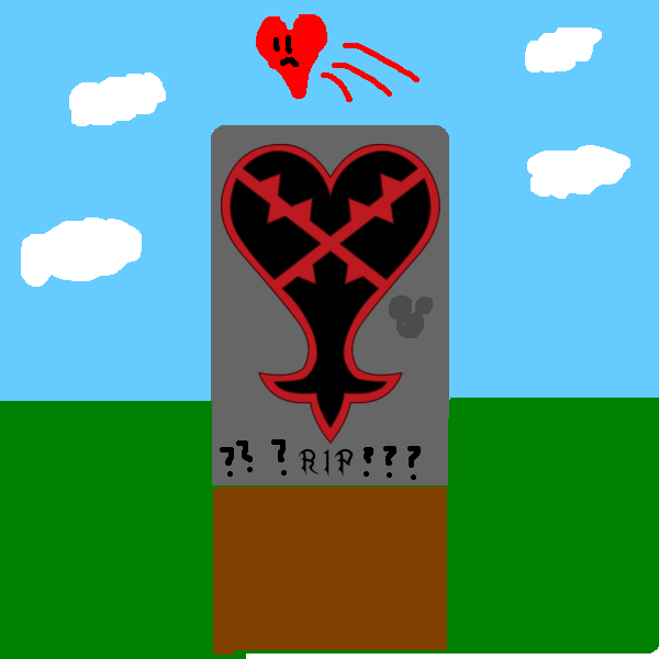 Heartless grave with hidden mickey