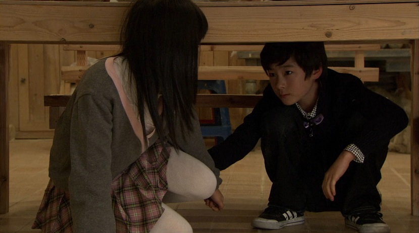 Yi-jung and his childhood friend in Boys Over Flowers episode 17