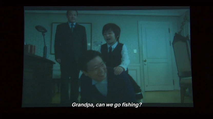 Young Ji-hoo and his grandfather in Boys over Flowers episode 17