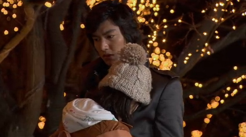 Jan-di and Jun-pyo in Boys over Flowers episode 16