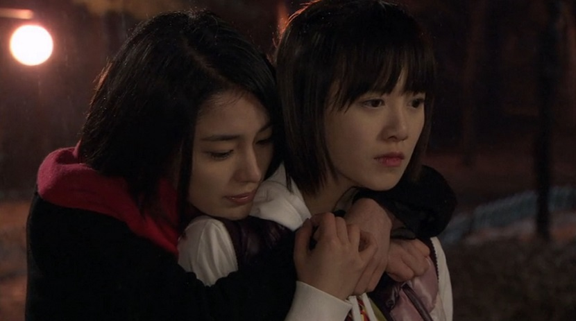 Jae-kyung and Jan-di in Boys Over Flowers episode 17