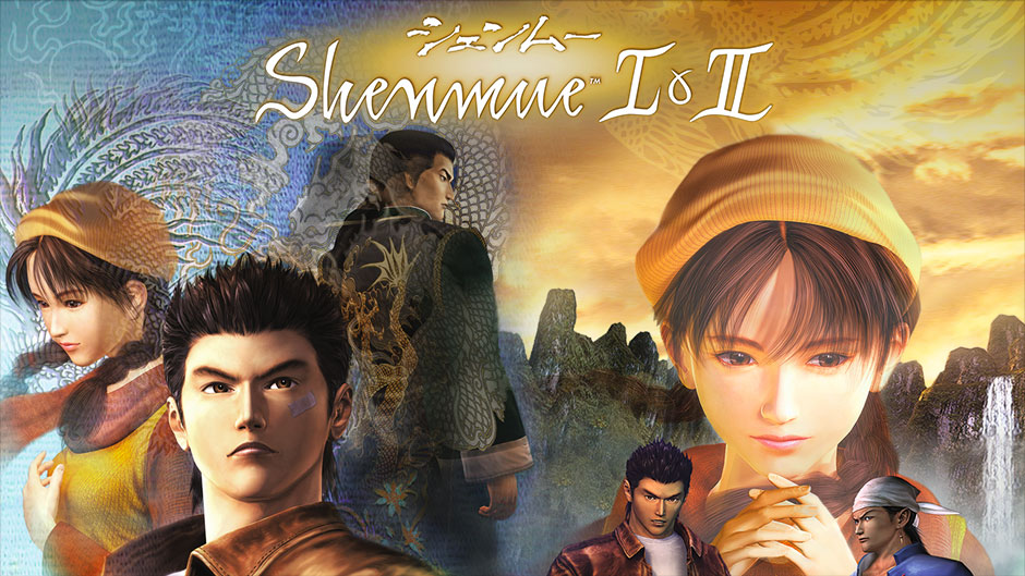 Shenmue I & II header as discussed on video game podcast