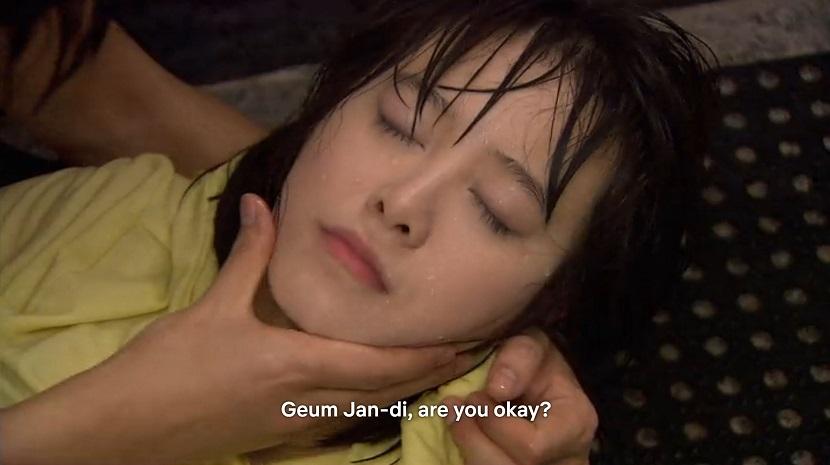 Jun-pyo rescues Jan-di Boys over Flowers episode 17