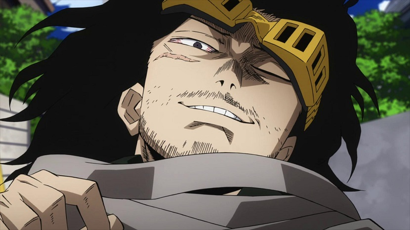 My Hero Academia season 2 episode 22 Aizawa