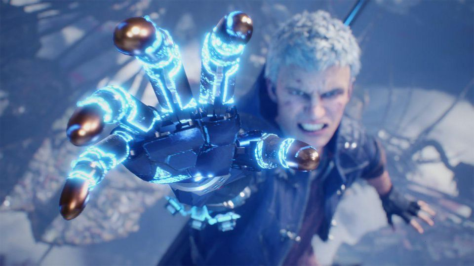 Nero's arm reached out in Devil May Cry 5 trailer