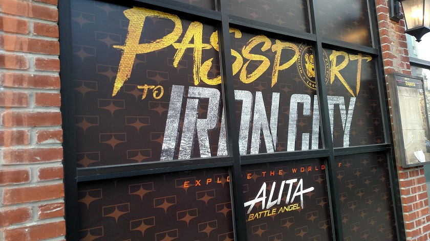 Outside of Passport to Iron city experience
