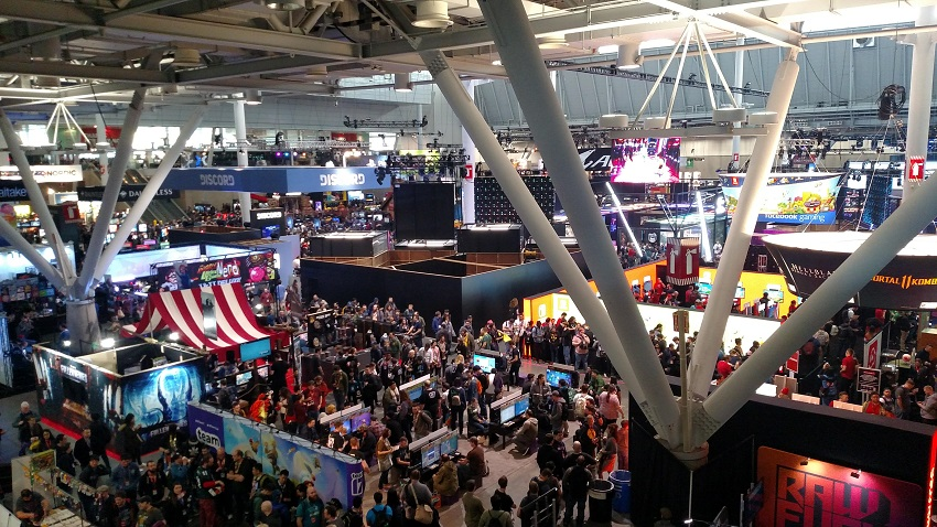 The crowds at PAX East 2019 in Boston