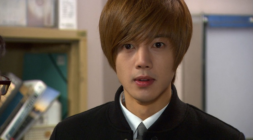 Ji-hoo upset in Boys Over Flowers episode 19