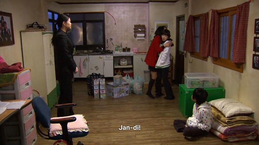 Jae-kyung visits Jan-di in Boys Over Flowers episode 18