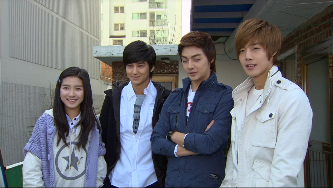 Boys Over Flowers F3 and Ga-eul