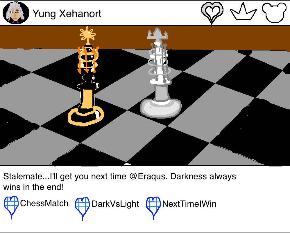 Eraqus Young Xehanort chess match instagram kingdom hearts 3
