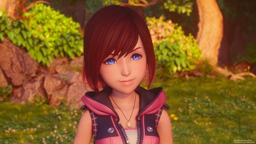 Kairi new look in Kingdom Hearts 3