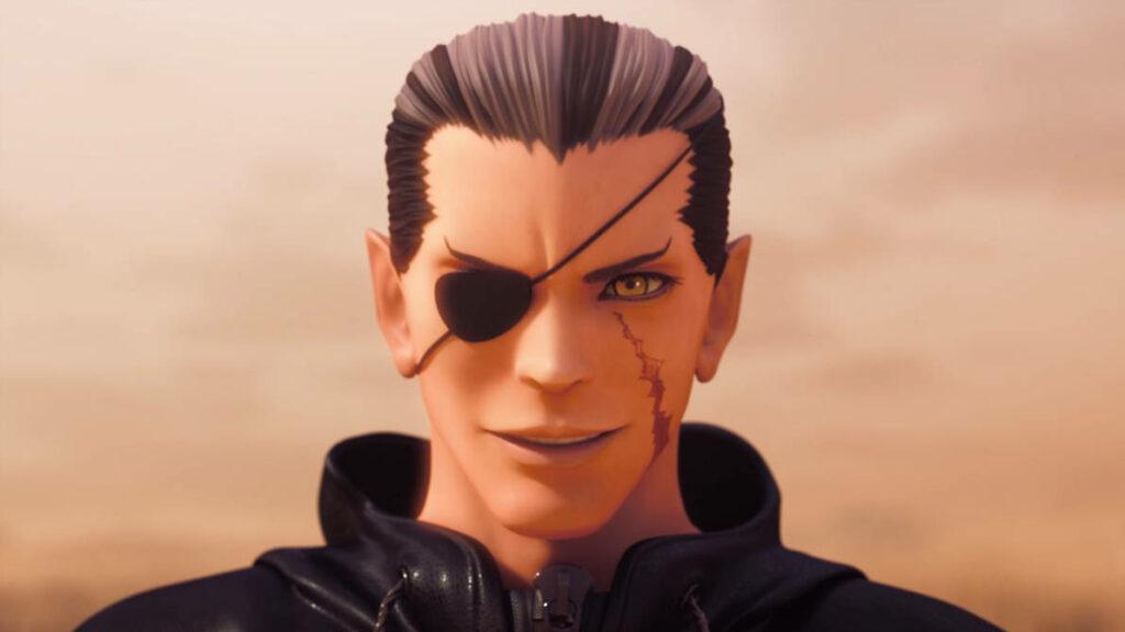 Xigbar is Luxu in Kingdom Hearts 3