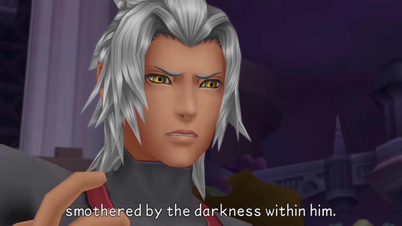 Terra smothered by darkness Kingdom Hearts