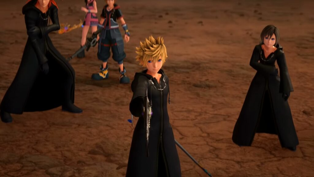 Roxas return in Kingdom Hearts 3