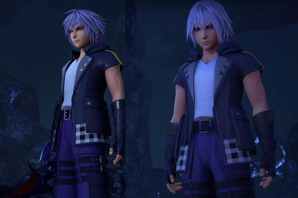 Riku haircut new outfit.