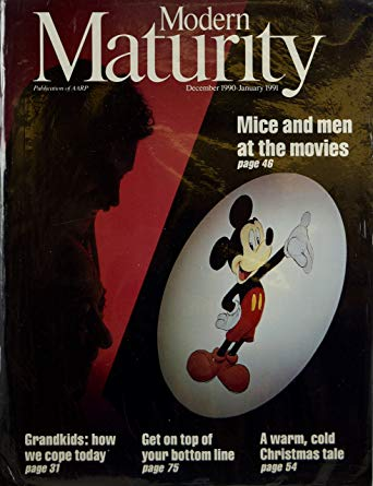 Modern Maturity Mickey Mouse Cover