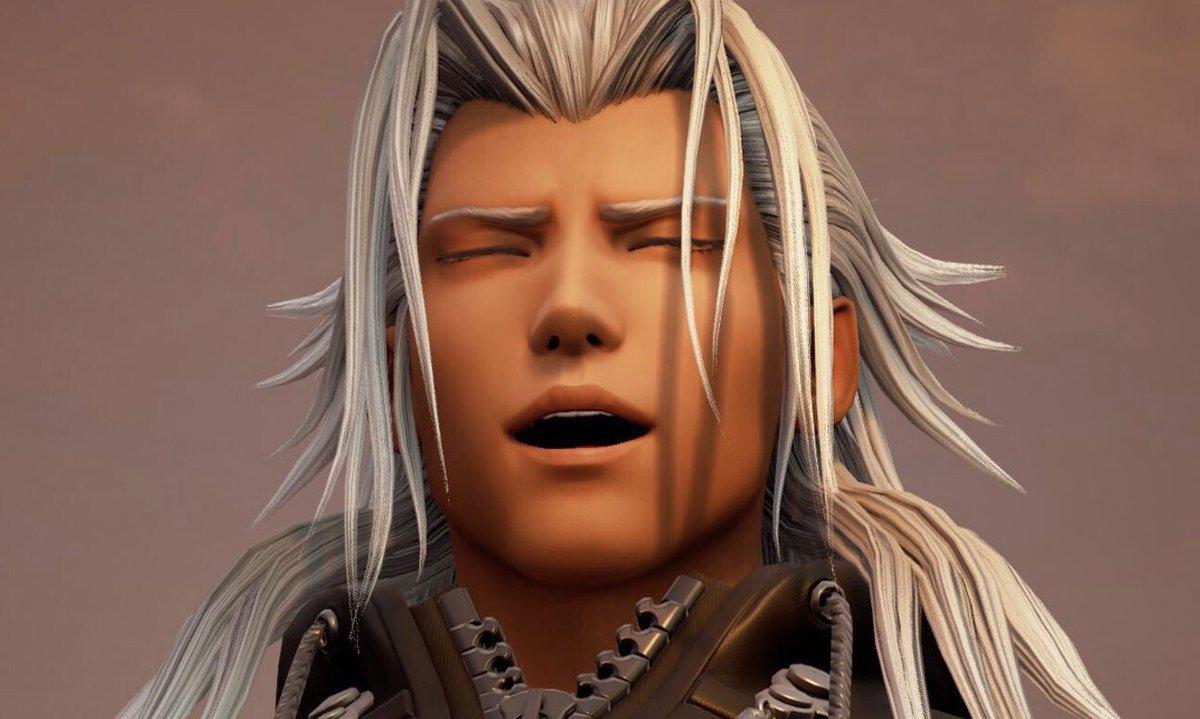 Xemnas manly man Kingdom Hearts 3