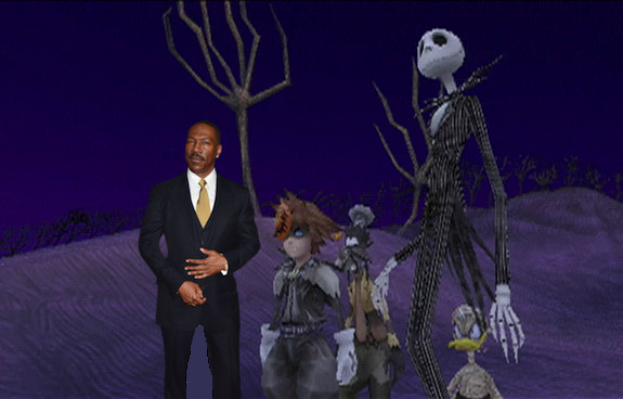 Eddie Murphy Kingdom Hearts Haunted Mansion Halloweentown