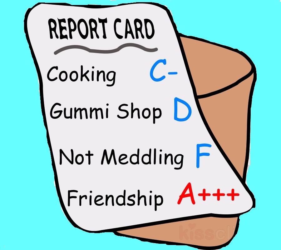 Sora's terrible Kingdom Hearts report card