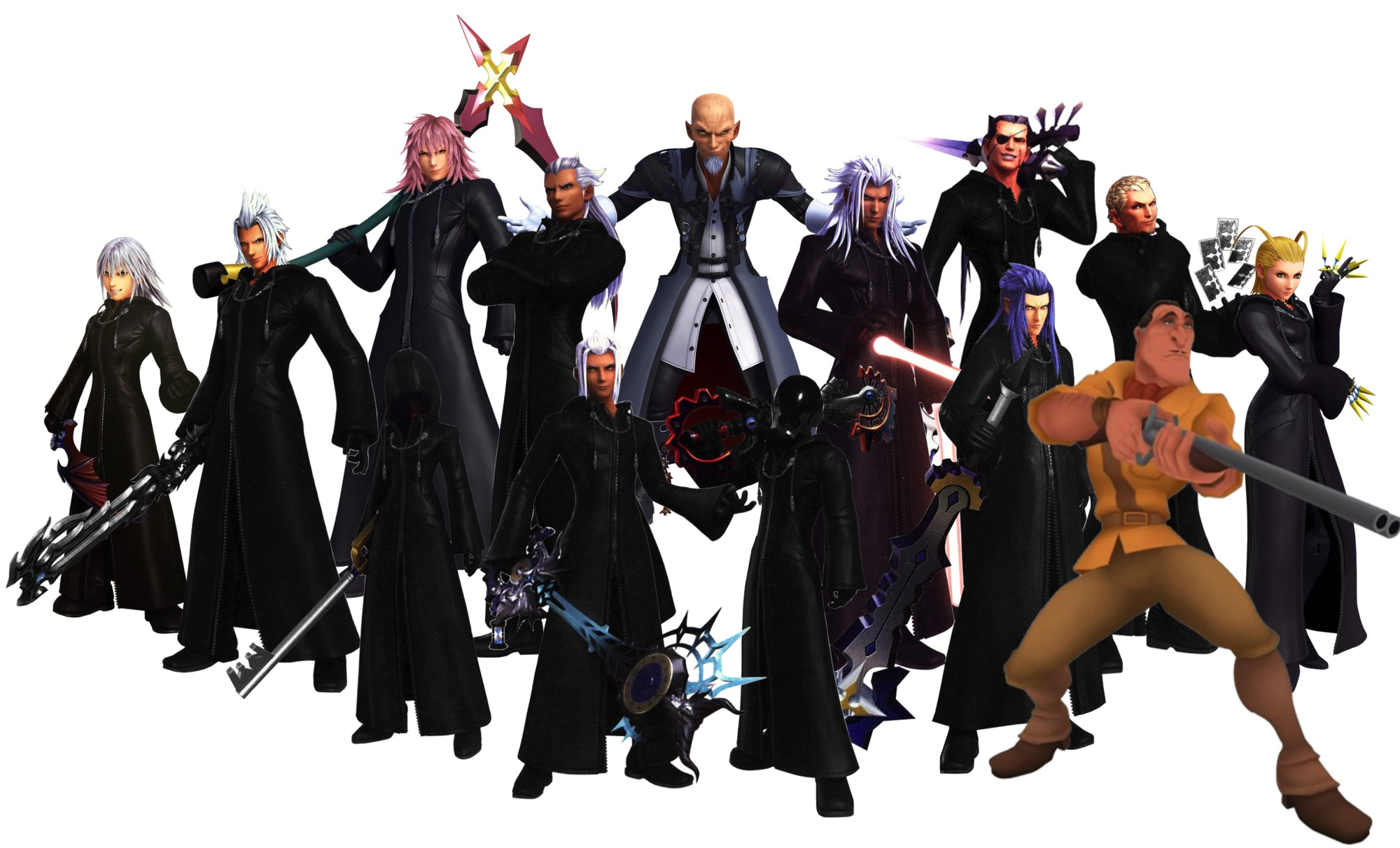 The thirteen darknesses Kingdom Hearts 3 plus Clayton