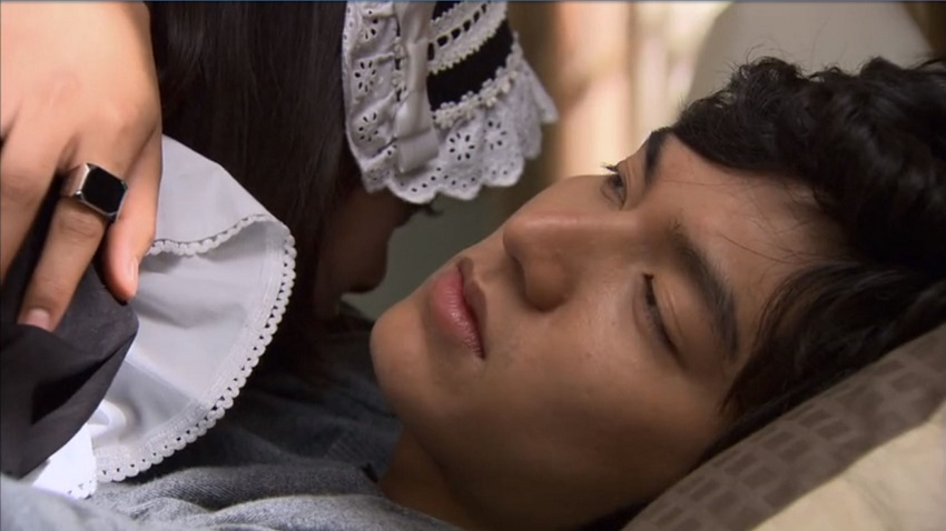 Jan-di and Jun-pyo in Boys Over Flowers