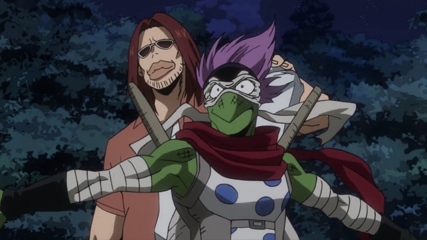 Spinner and Magne in My Hero Academia