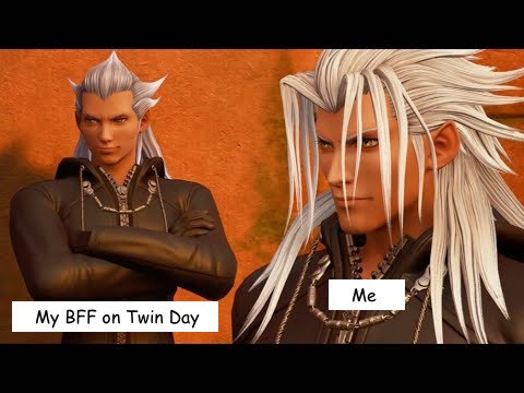 Ansem and Xemnas Me and my bff on twin day