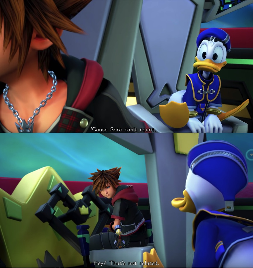 Sora can't count KH3