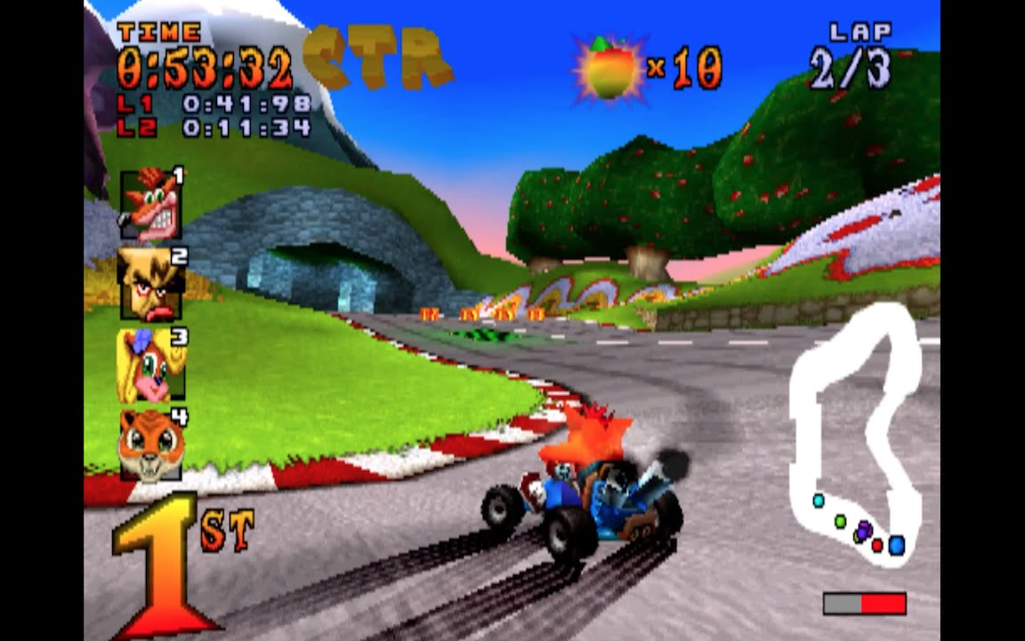 Coco Park original Crash Team Racing