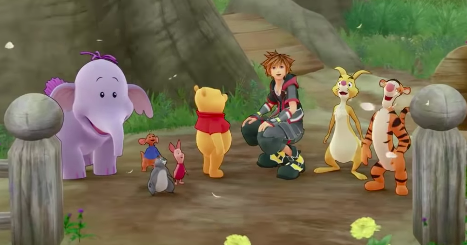 Hundred Acre Wood Characters KH3