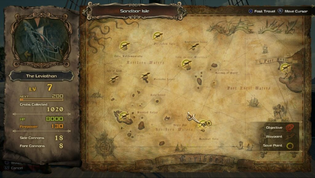 Treasure Map Pirates of the Caribbean KH3