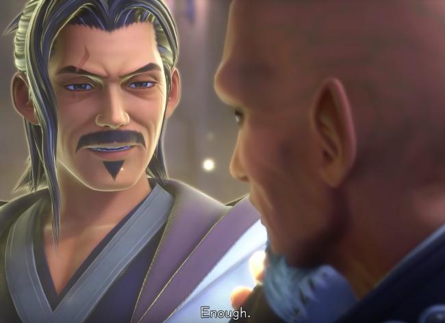 Eraqus and Xehanort in Kingdom Hearts 3