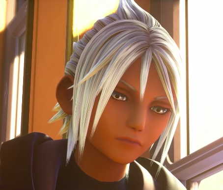 Young Xehanort with grey eyes