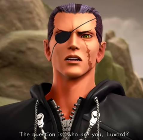 Luxu who are you Luxord?